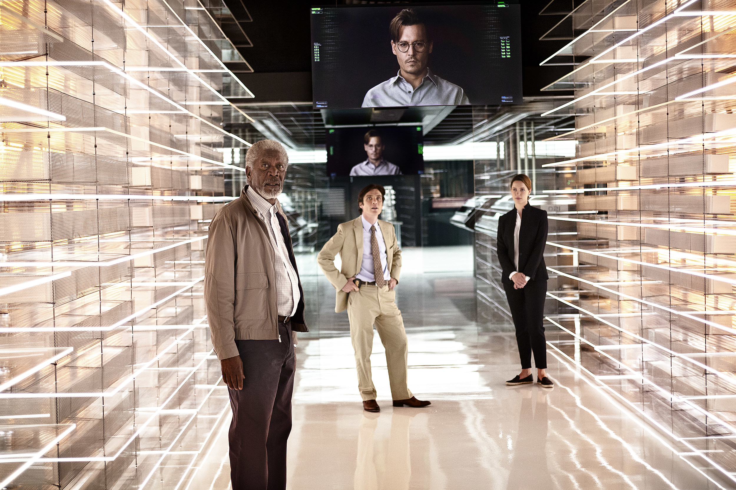 TRANSCENDENCE Photos First Look