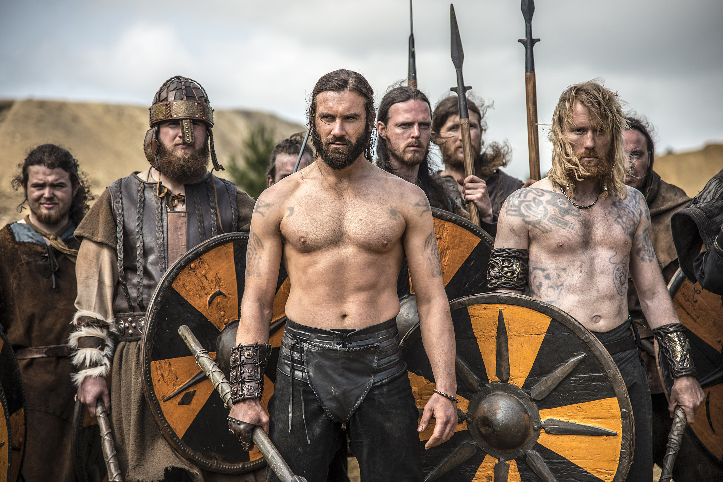Vikings' Season 2: Ragnar and Rollo Go to War in First Photos