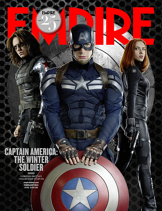 Captain America 2 Empire Cover
