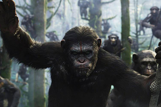 'Dawn of the Planet of the Apes' Shifts Into 'Fast 7' Slot