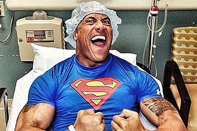 The Rock DC Superhero