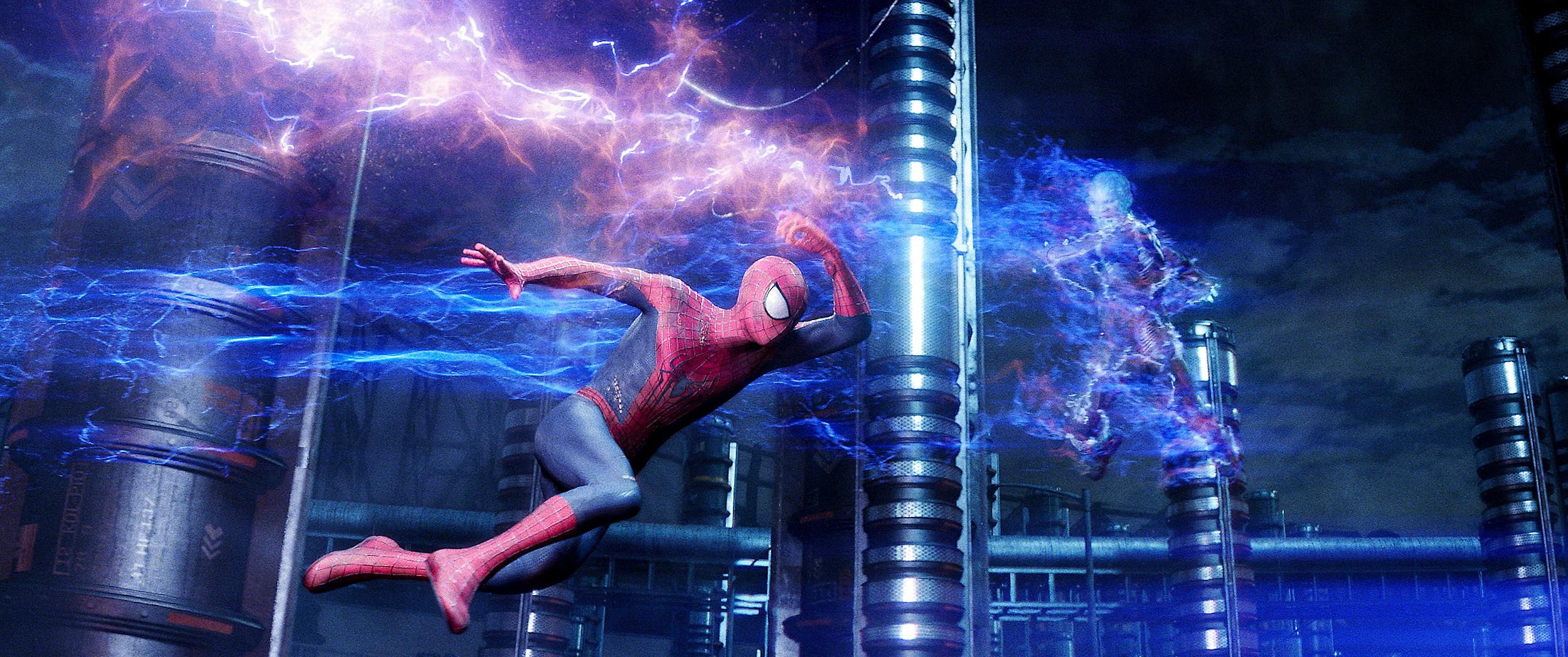 New 'Amazing Spider-Man 2' Photos Put the Spotlight on Electro  Spider