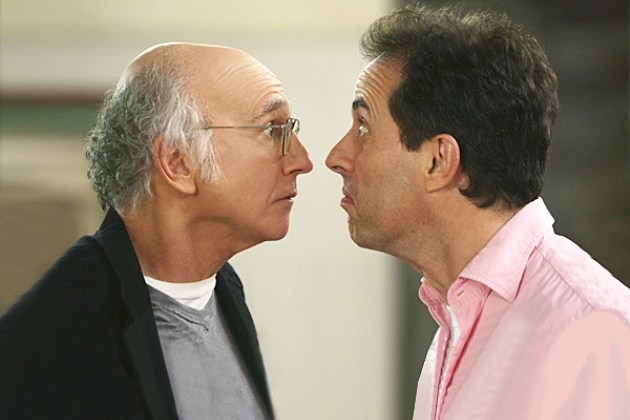 Jerry Seinfeld Larry David 2014 Writing Project Broadway Play