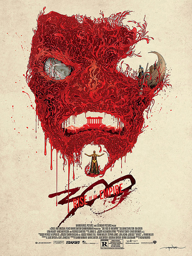 300 Rise of an Empire Mondo Poster