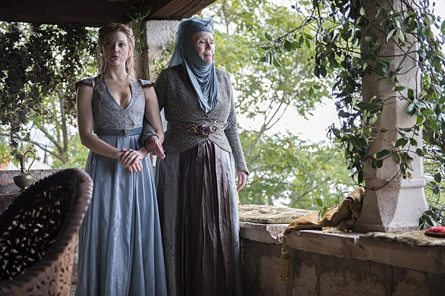 Game of Thrones Season 4 Photos Margaery Olenna Tyrell