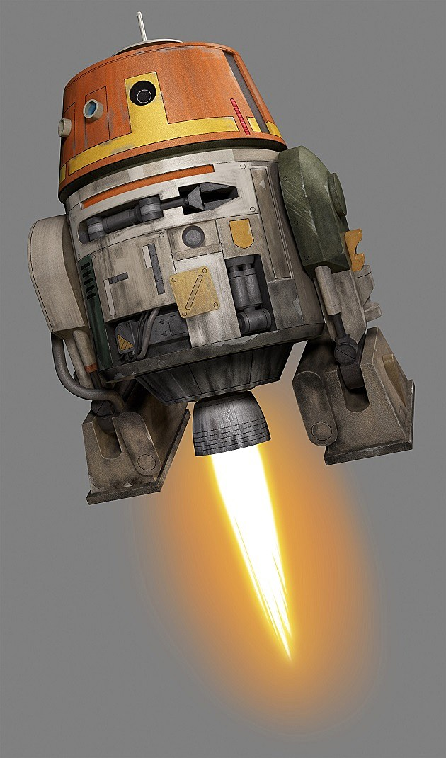 Star Wars Rebels Characters Chopper