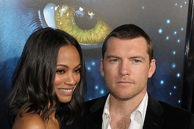 Zoe Saldana, Sam Worthington