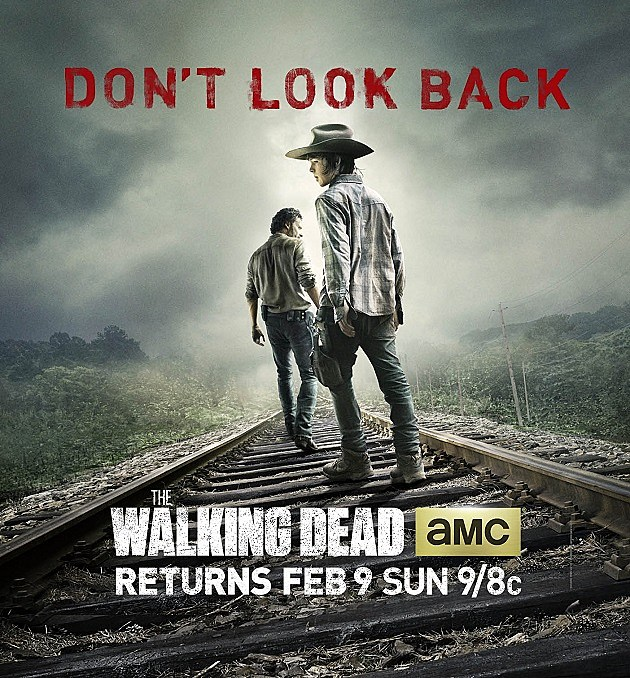 The Walking Dead Season 4 2014 Poster Dont Look Back