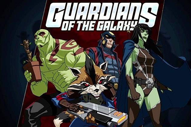 Marvel Guardians of the Galaxy Animated Series Disney XD 2014