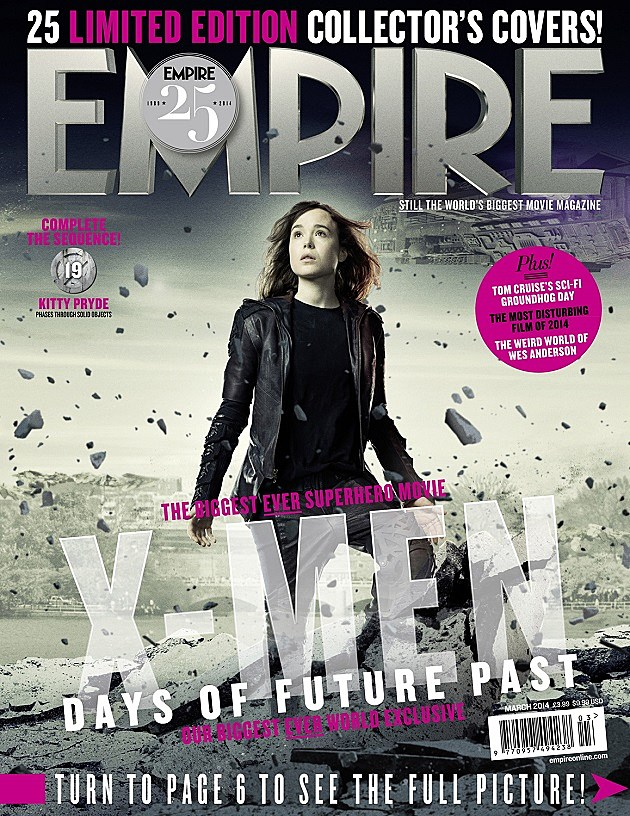 X-Men Days of Future Past Kitty Pryde Empire