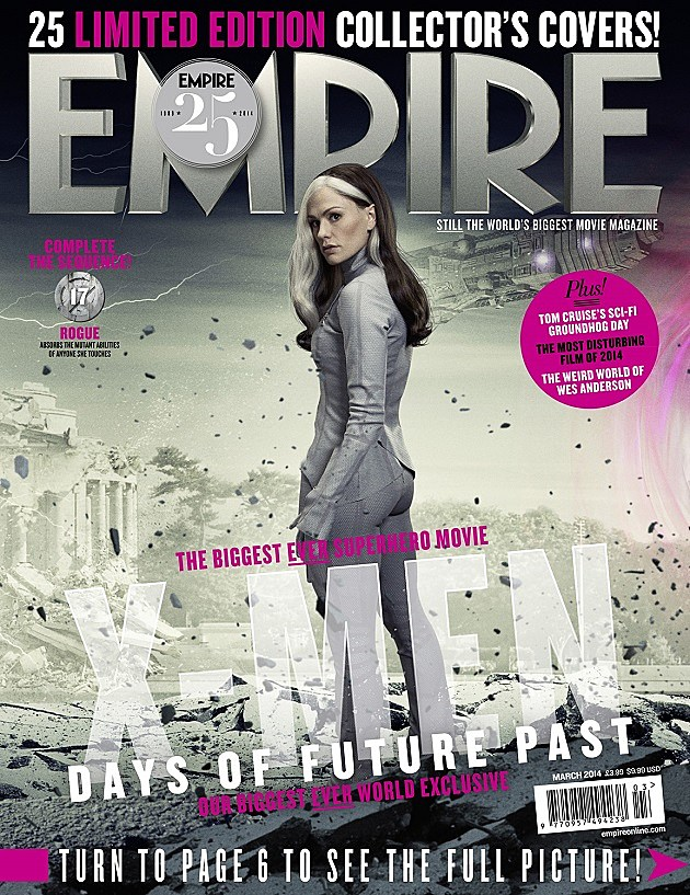 X Men Days of Future Past Rogue Empire