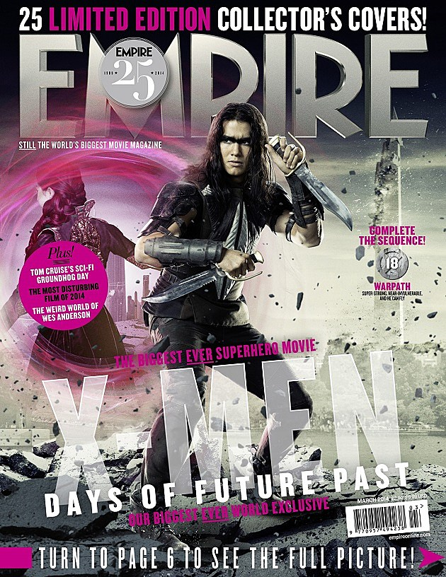 X-Men: Days of Future Past Warpath Empire