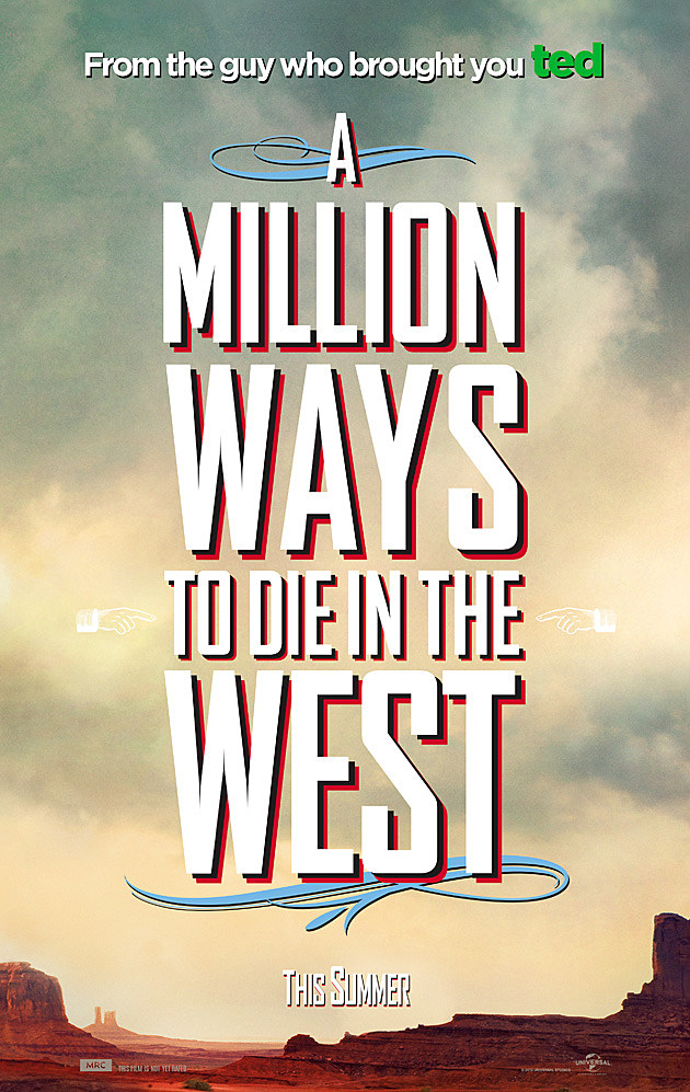 A Million Ways to Die in the West Posters