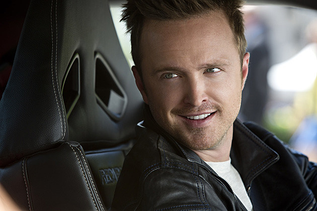 Aaron Paul Interview Need for Speed Set