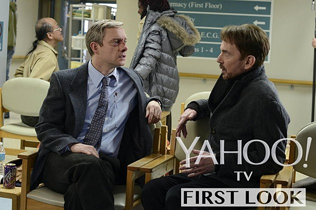 FX Fargo TV Series Photos Martin Freeman Billy Bob Thornton