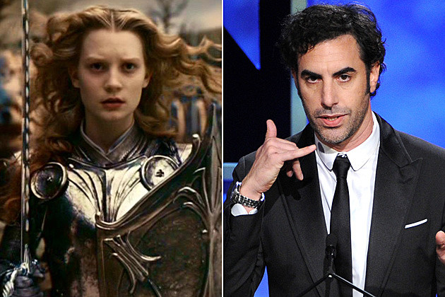 Alice in Wonderland 2 Sacha Baron Cohen