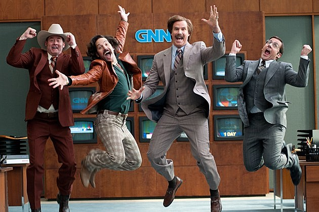 Anchorman TV Series Will Ferrell Astronaut Mission Control NBC