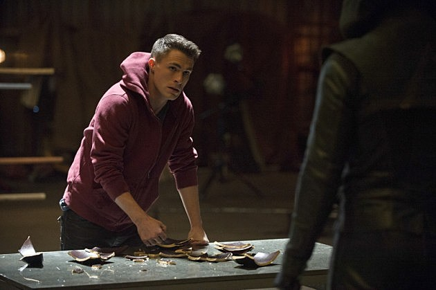Arrow Tremors Photos Roy Harper Bronze Tiger