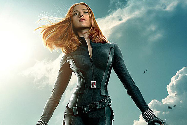 Captain America 2 Black Widow Poster