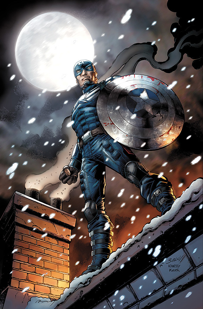 Captain America 2 Comic Book 1