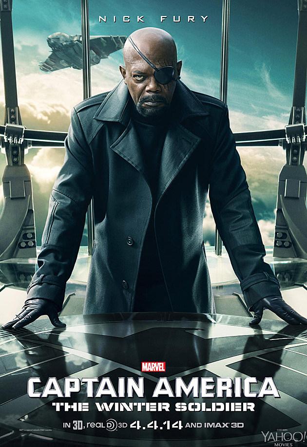 Captain America 2 Poster Nick Fury Samuel L. Jackson