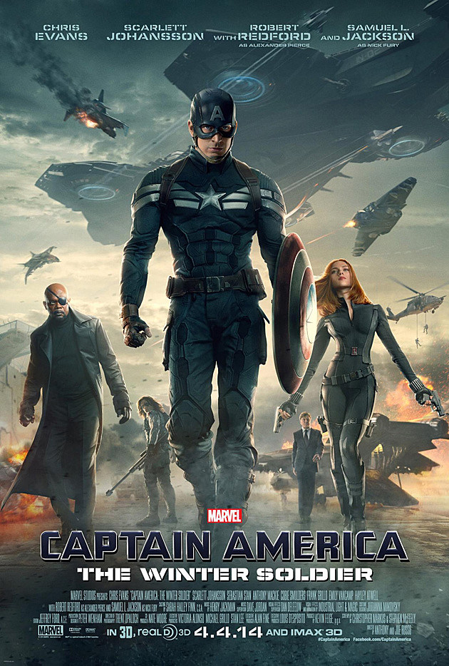 Captain America 2 Poster US