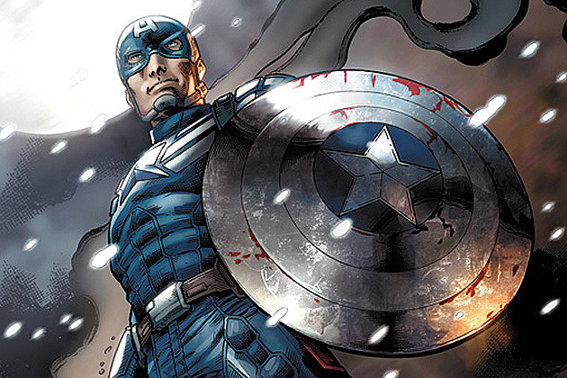 Captain America 2 Tie-In Comic Book