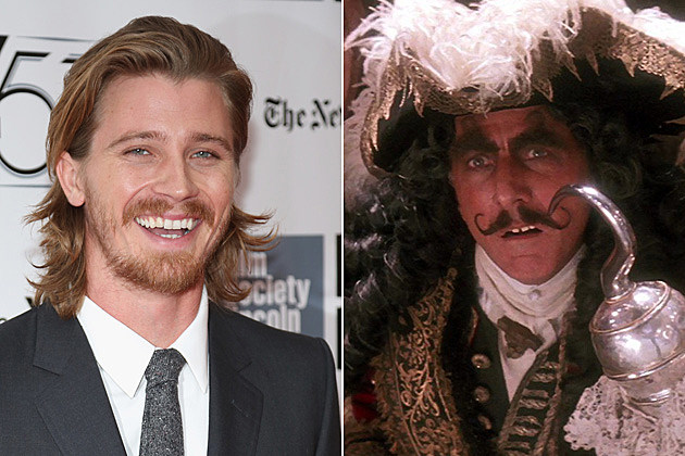 Captain Hook Garrett Hedlund