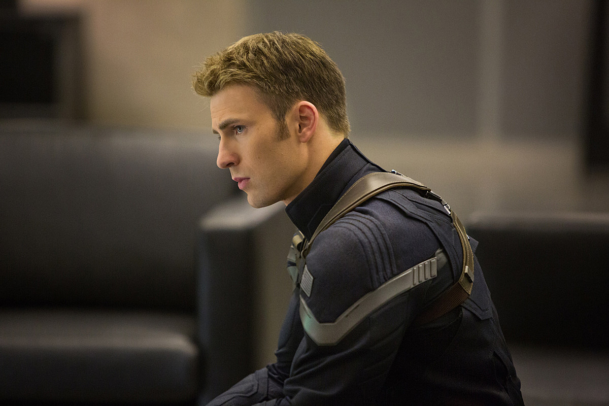 Captain America 2 Pics Chris Evans