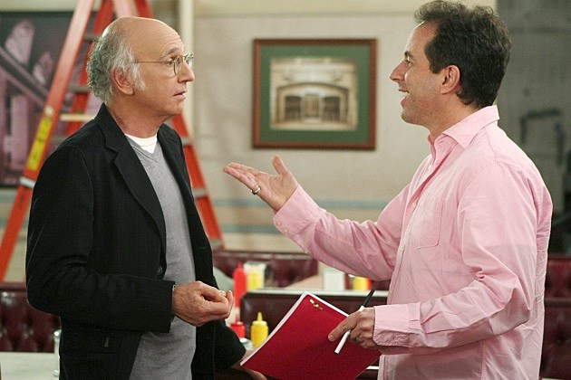 Jerry Seinfeld Larry David 2014 Writing Project