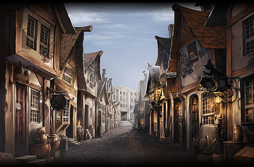 Harry Potter Book Art Hogwarts harry potter concept art