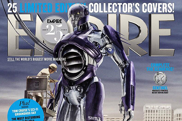 Men  Days of Future Past    Images Unveil Sentinels  First Look at    X Men Days Of Future Past Sentinels Empire