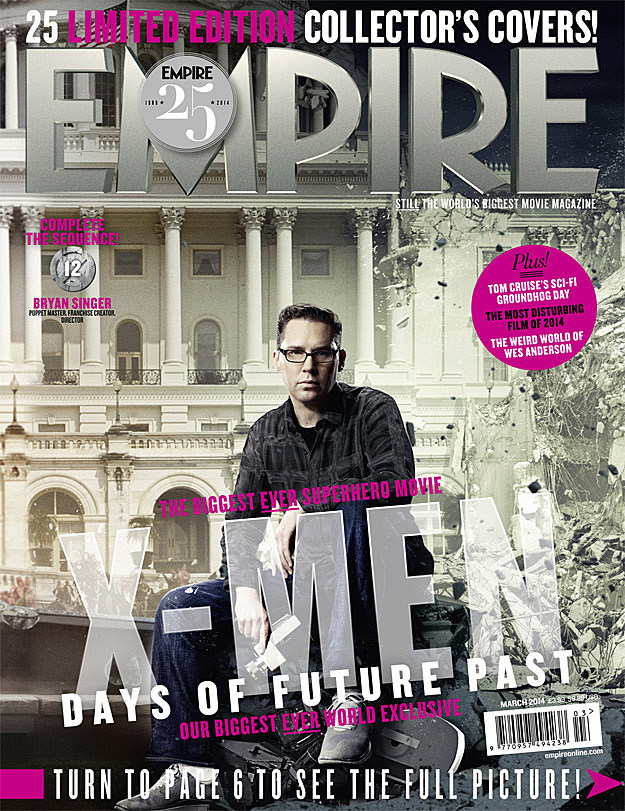 X Men Days of Future Past Bryan Singer Empire