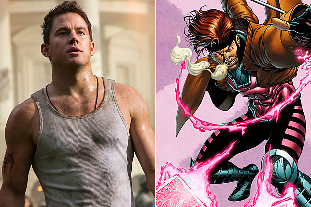 Channing Tatum Gambit X Men