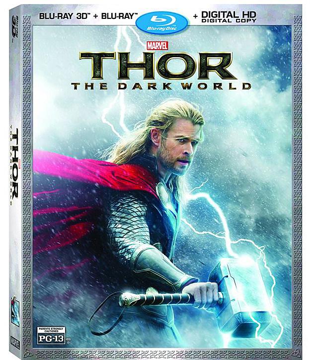 Thor 2 Blu-ray Art