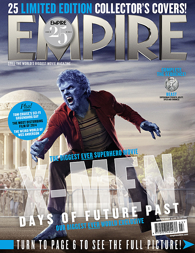 X-Men Days of Future Past Empire Cover Beast