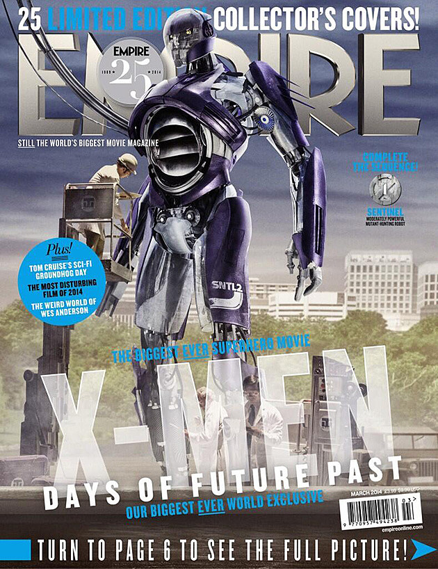 X-Men Days of Future Past Sentinels Empire Cover
