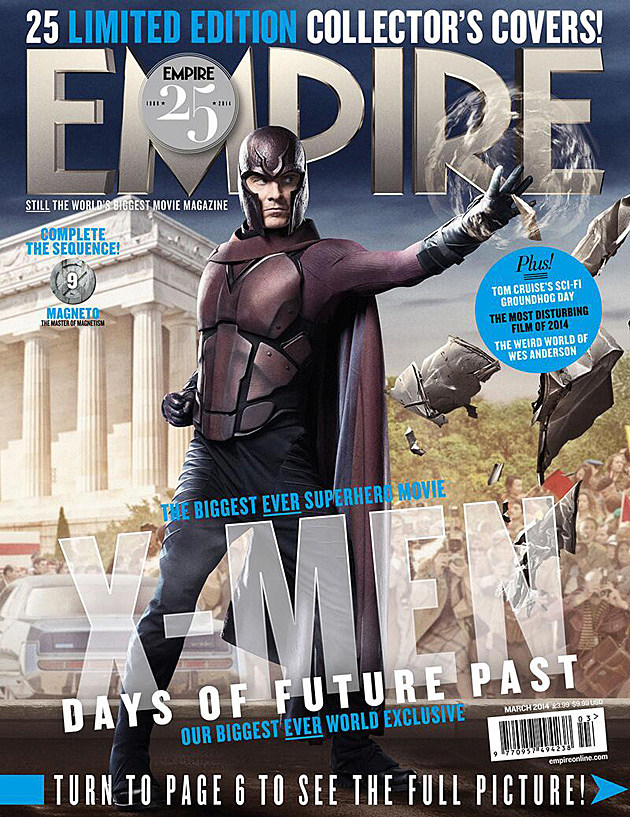 X-Men Days of Future Past Magneto Fassbender Empire