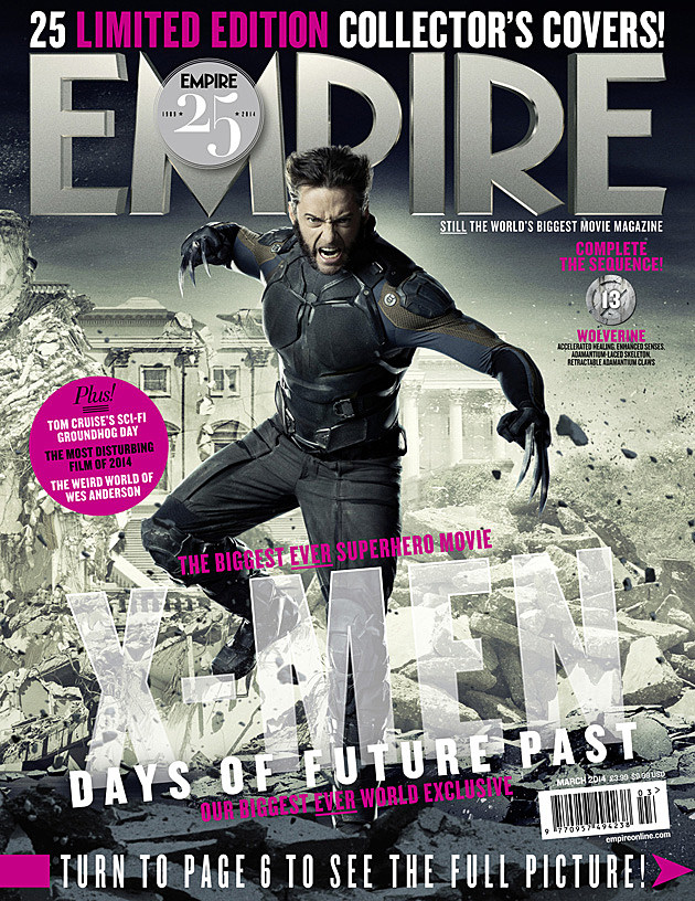 X-Men Days of Future Past Wolverine Hugh Jackman Future