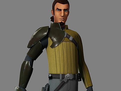Star Wars Rebels Freddie Prinze Jr Kanan Preview