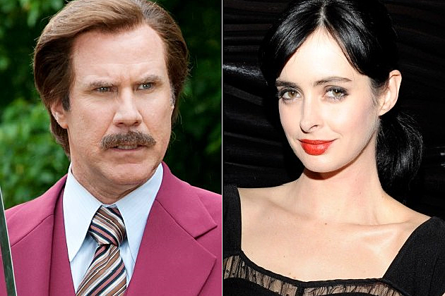 NBC Anchorman Astronaut Krysten Ritter Mission Control Will Ferrell