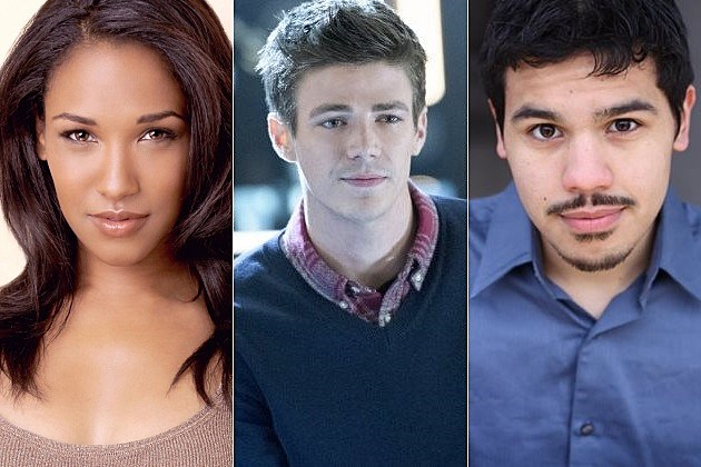 CW Flash Spinoff Candice Patton Iris West Carlos Valdes Vibe