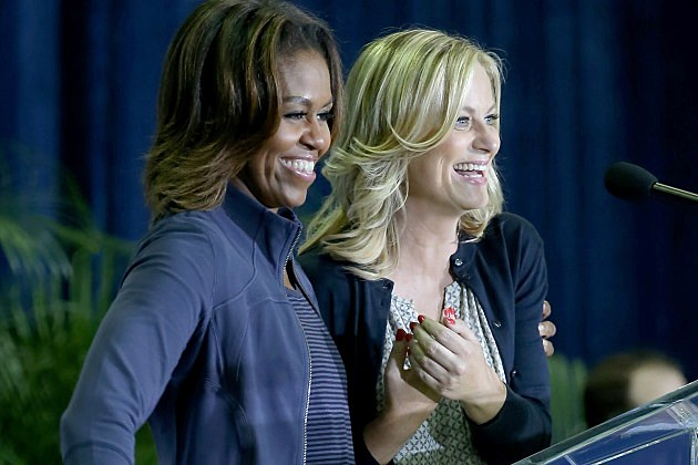 Parks and Recreation Michelle Obama Season 6 Finale Moving Up