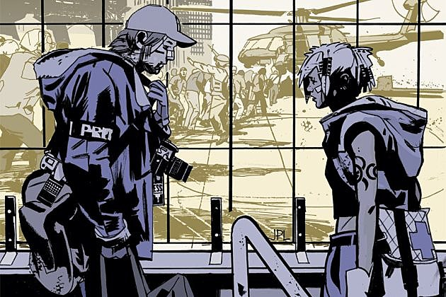 DMZ Comic TV Series Syfy