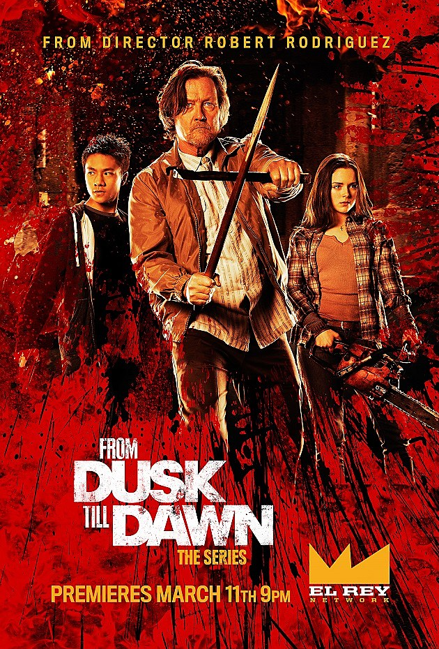 From Dusk Till Dawn The Series Poster Robert Patrick