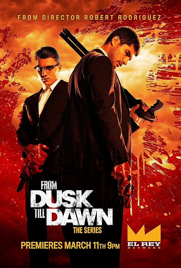From Dusk Till Dawn The Series Poster Gecko Brothers
