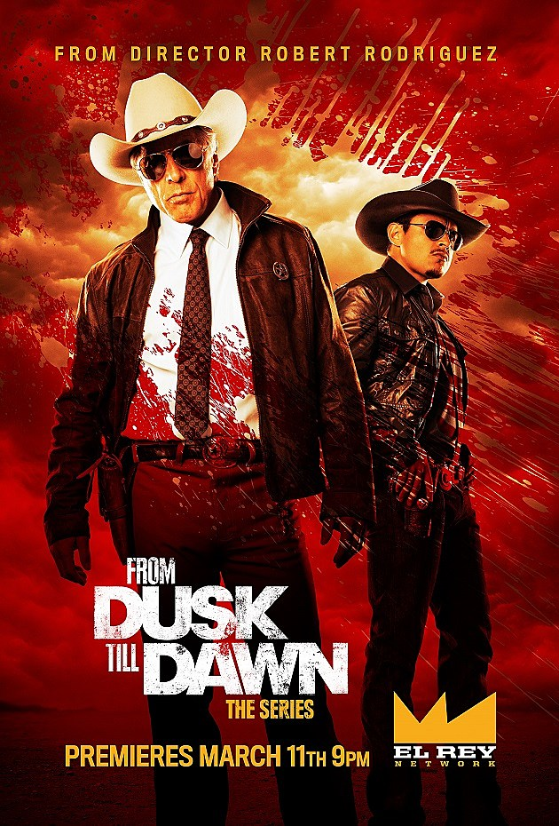 From Dusk Till Dawn The Series Poster Don Johnson