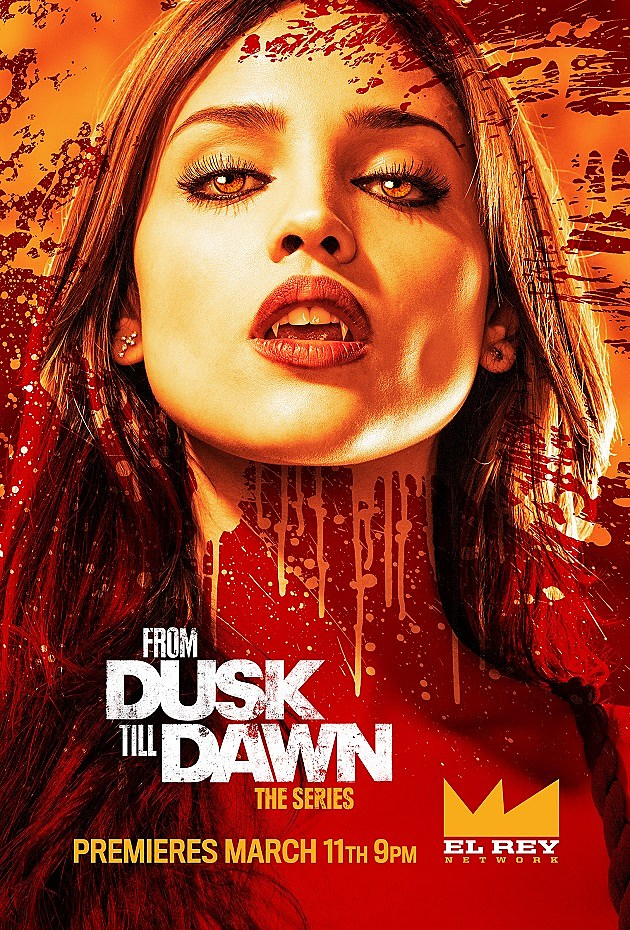 From Dusk Till Dawn The Series Poster Santanico Pandemonium