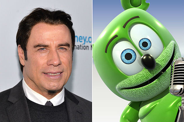 John Travolta Gummy Bear
