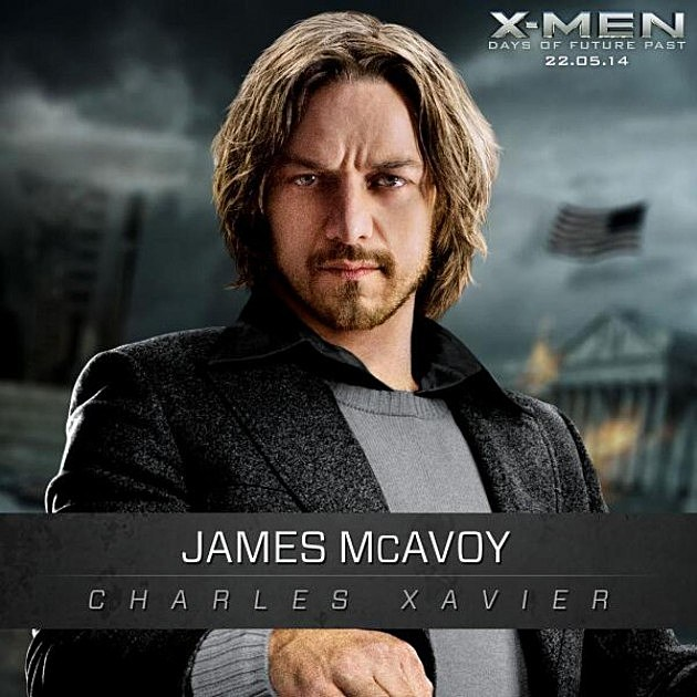 X-Men Days of Future Past Photos James McAvoy